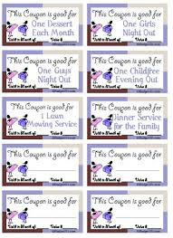 coupons for adults friends families gift coupon