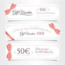 movie ticket sign theme gift voucher gift coupon gift card