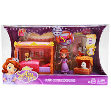 sofia toys royal bed playset toystop