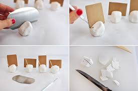 Diy Place Cards Diy Place Card Do It Your Self