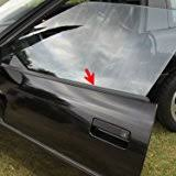 c4 corvette front spoiler amazon com c4 spoiler lower front spoiler air dam kit with mount