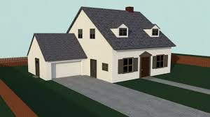 simple house 3d model game ready cgtrader