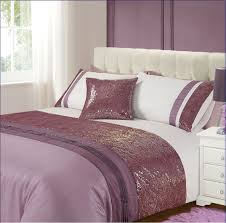 Plum Duvet Cover Set Bedroom Purple Duvet Cover With Glass Windows And White Wall