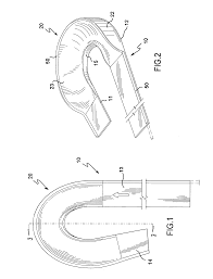 patent us8360895 water slide with banked curve obstacal region