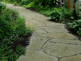Dry Laid Bluestone Patio by Garden Paths Stone Stone Garden Path Ideas Garden And Orchard