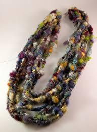 trellis ladder yarn necklace instructions 189 best yarn necklaces images on pinterest yarn necklace