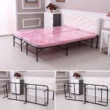 aliexpress com buy homdox king size metal folding platform bed
