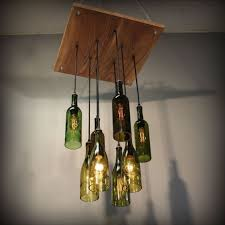 Wine Glass Pendant Light Stylish Creative Of Wine Bottle Light Fixture Chandelier Wine