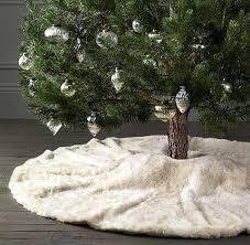 faux fur tree skirt fur christmas tree skirt tutorial faux fur tree skirt faux fur