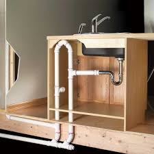 How To Build A Bathroom In Basement How To Plumb An Island Sink Family Handyman