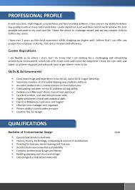 Resume Examples Qld by Architects Resume Template 066