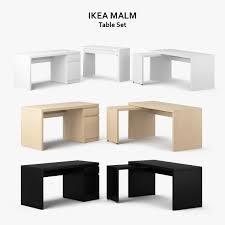 Ikea Pahl Ikea Desk 3d Models And Textures Turbosquid Com