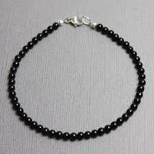 sterling silver black onyx bracelet images Onyx bracelet black onyx bracelet black bracelet 3mm onyx jpg
