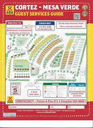 Mesa Az Zip Code Map by Cortez Colorado Campground Cortez Mesa Verde Koa