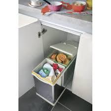 poubelle cuisine tri s駘ectif 2 bacs poubelle cuisine tri s駘ectif 2 bacs 28 images poubelle de