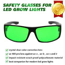 safety glasses for led lights lvjing led grow light room glasses goggles color correction safety