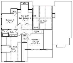 traditional floor plans traditional style house plan 4 beds 3 baths 2855 sq ft plan 927