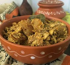 mochar ghonto recipe traditional banana blossom curry from west