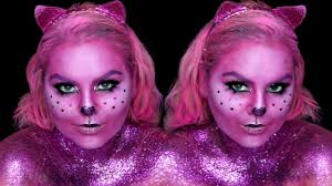 Gypsy Makeup Tutorial Halloween by Glitter Cat Makeup Tutorials Maryandpalettes Halloween Youtube