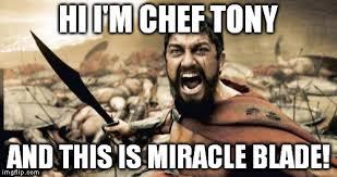 Meme Chef - sparta leonidas meme imgflip