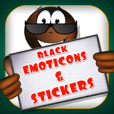 animated emoticons for android black emoticons android apps on play