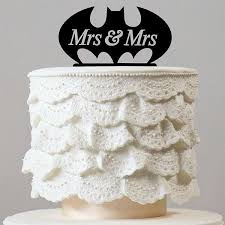 mrs and mrs cake topper bat mrs mrs wedding cake topper same