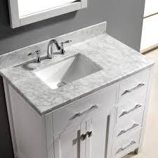 Undermount Rectangular Vanity Sinks Bathroom 2017 Elegant White Wooden Single Vanity Some Drawer