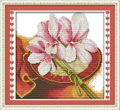 joy sunday flower style orchid gardeners cross stitch patterns