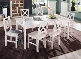 Esszimmergruppe 7 Teilig Weiß Essgruppen Und Weitere Gartenmöbel Günstig Online Kaufen