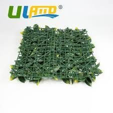 uland 25x25cm pc artificial hedges uv plastic designable synthetic