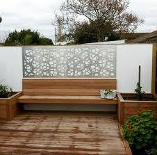 patio wall decorative screen decor in our pretoria design cut