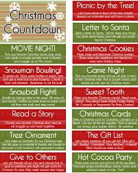 boredom jar or advent christmas countdown jar kids s free