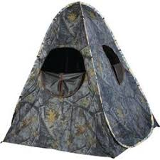 tent chair blind one chair blind
