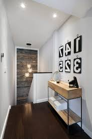wood artwork contemporary with number pendant lights
