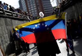 Venezual Flag Between A Rock And A Hard Place Economic Sanctions On Venezuela