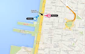 New York Tourist Attractions Map by Wwwmappinet Maps Of Cities New York City Piers 9294 New York
