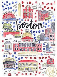 Massachusetts travel fan images Best 25 boston map ideas harvard boston boston jpg