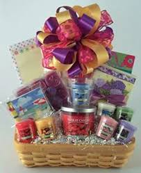 candle gift baskets candles and notes gift basket gifty baskets and flowers of