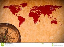 World Map Antique by Antique World Map Compass Stock Photos Images U0026 Pictures 2 989
