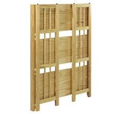 Oak Bookshelves For Sale by Amazon Com Casual Home 3 Shelf Folding Stackable Bookcase