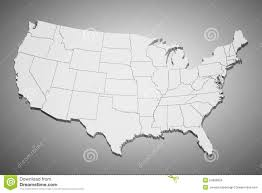 Images Of The United States Map by Map Of The United States Royalty Free Stock Photo Image 5552165