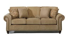 Modern Furniture Tucson by Furniture Cream Leather The Dump Sofas With Nailhead Trim For