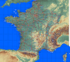 Map Of Southern France by Country Maps France
