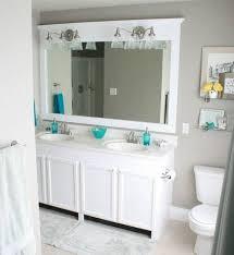 Bathroom Mirror With Shelf by Best 25 Brown Framed Mirrors Ideas On Pinterest Bath Room