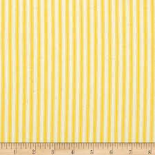 Yellow Stripe Curtains 44 Ticking Stripe Yellow Discount Designer Fabric Fabric
