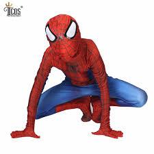 aliexpress com buy kids amazing spiderman cosplay costume