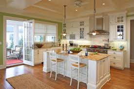 Traditional Kitchens With Islands Chair White Country Kitchen Cabinets Ideas Cabinet Uotsh