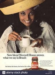 Housemagazine by 1960s Uk Maxwell House Magazine Advert Stock Photo Royalty Free