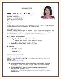 A Example Of A Resume by 1001 Best Teachers Resumes Images On Pinterest Teacher Resumes