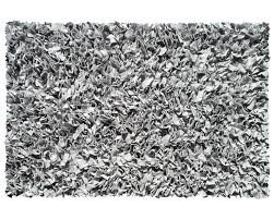 Black And Silver Rug The Rug Market Silver Shaggy Rug Kids N Cribs